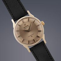 Omega Constellation Pie-Pan gold capped automatic watch