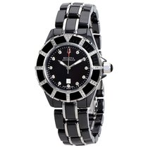 Bulova Accutron Mirador Black Mother of Pearl Dial Ladies Watch