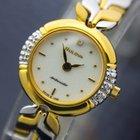 Bulova Ambassador 18K Gold-Plated Diamond Dress Watch