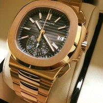Patek Philippe Nautilus Chronograph Gold Rose