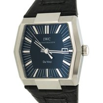IWC Davinci Vintage Automatic Iw546101 In Steel And Leather,...