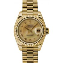 Rolex Lady-Datejust 26 179178-CHMOPRP Champagne Decorated...