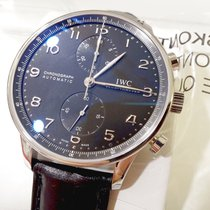 IWC Portugieser Chrono 41mm IW371447 Steel - NEW - VAT INC. 22%
