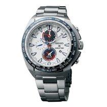 Seiko Herrenuhr Prospex World Time Solar Chronograph SSC485P1
