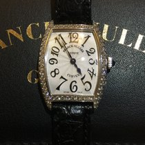 Franck Muller Casablanca oro bianco 18 kt e diamanti