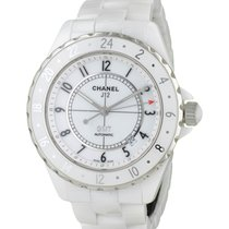 Chanel J12 Blanche Gmt