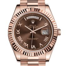 Rolex Oyster Perpetual Day Date Rose Gold 218235 41 mm