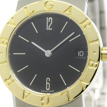Bulgari Polished  - 18k Gold Steel Ladies Watch Bb30sgd...