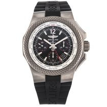 Breitling Bentley GMT Light Body B04S Titanium 45mm Black Dial...