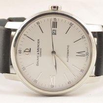 Baume & Mercier Classima Herren Uhr Automatik 42mm Weiss...