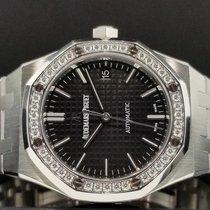 Audemars Piguet Royal Oak 37mm Factory Diamond Bezel Ref...