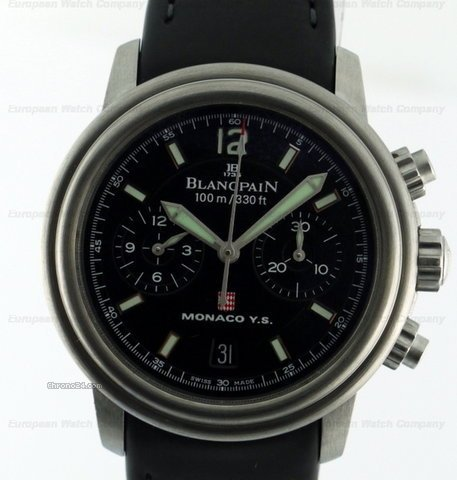 Blancpain Monaco Yacht Show Flyback Chronograph SS / Rubber 38MM