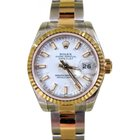 Rolex Datejust 179173 26mm White Index 18k Yellow Gold Oyster...