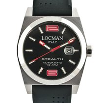 Locman Stealth 020500BKNRD0GOK Automatic Men's Watch