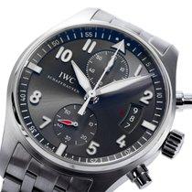 IWC [NEW] Spitfire Ardoise Chronograph IW387804(Retail:HK$88000)