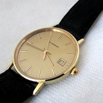 Eterna 14ct golden thin model, serviced , all original