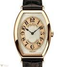 Patek Philippe Gondolo 18K Rose Gold Leather Men`s Watch