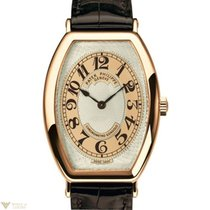 Patek Philippe Gondolo 18K Rose Gold Leather Men`s Watch