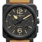Bell & Ross Aviation BR03-94 HERITAGE CERAMIC Automatic Mens