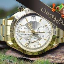 Omega 18kt Gold Speedmaster Automatik Chrono, 2010, B&P,...