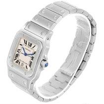 Cartier Santos Galbee Quartz Stainless Steel Date Watch W20060d6