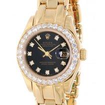 Rolex Pearlmaster 69298 Yellow Gold, Diamonds, 29mm