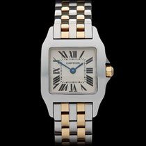 Cartier Santos Demoiselle Stainless Steel/18k Yellow Gold...