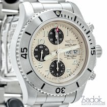 Breitling SuperOcean Steelfish Chronograph Diver Beige Dial...