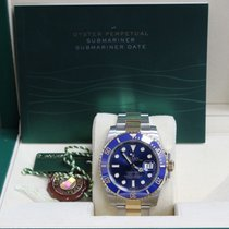 勞力士 (Rolex) Submariner 116613 Blue 18K /yellow Gold &...