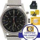 Breitling TransOcean Steel Chronograph 43mm Watch