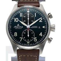 Alpina Startimer Pilot Chronograph Men's Leather