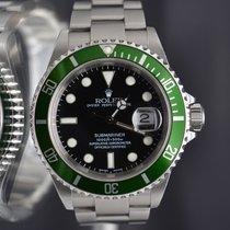 Rolex Submariner F serial Anniversary Fat Four– unpolished MK1