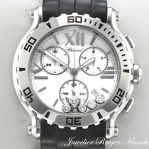 Chopard HAPPY SPORT STAHL DIAMANTEN CHRONOGRAPH 288499 Diamonds