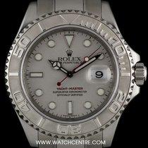 勞力士 (Rolex) Stainless Steel O/P Platinum Dial Yacht-Master 16622