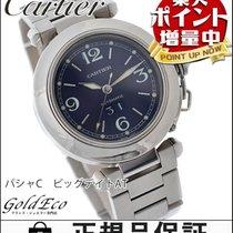 Cartier 【美品】Cartier【カルティエ】 パシャC ビッグデイト ボーイズ腕時計【中古】 W31047M7...