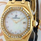 Audemars Piguet 67601BA Ladies' Royal Oak, Yellow Gold...