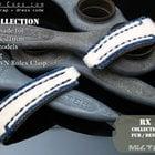 Rolex Submariner & Explorer Beige Calf Fur Wat ...