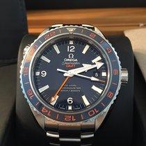 Omega Seamaster Planet Ocean GMT - Deutsche Auslieferung