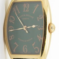 Franck Muller 2852 Sc Platinum Rotor 18k Yellow Gold Automatic...