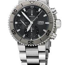 Oris Aquis Titan Chronograph Farbe Grau