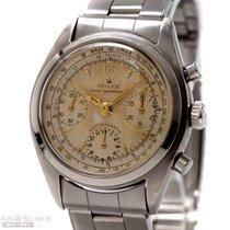 Rolex Vintage Pre-Daytona Chronograph Ref-6034 Stainless Steel...
