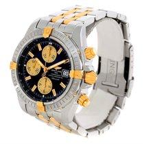 Breitling Chronomat Steel 18k Yellow Gold Watch B13356 Unworn