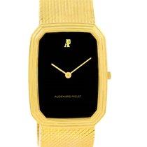 Audemars Piguet 18k Yellow Gold Black Dial Manual Winding...