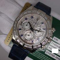 Rolex Daytona Baguette Pave Diamonds 116589 Box & Papers