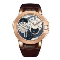 Harry Winston [NEW] Ocean Dual Time automatic 18K rose gold...