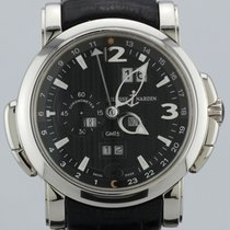 Ulysse Nardin GMT +/- Perpetual Automatic 18K White Gold 42mm...