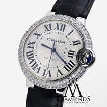 Cartier Diamond Cartier Ballon Bleu 42mm W69012z4 Automatic...
