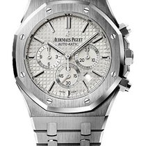Audemars Piguet Royal Oak Chrono White Dial 41mm 26320ST.OO.12...