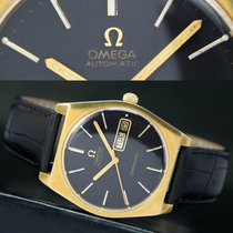 Omega Seamaster Automatic Quick Day Date Roll Gold Steel  Watch