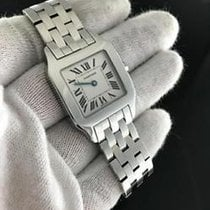 Cartier Santos Demoiselle 2701 Stainless Steel Quartz Movement...